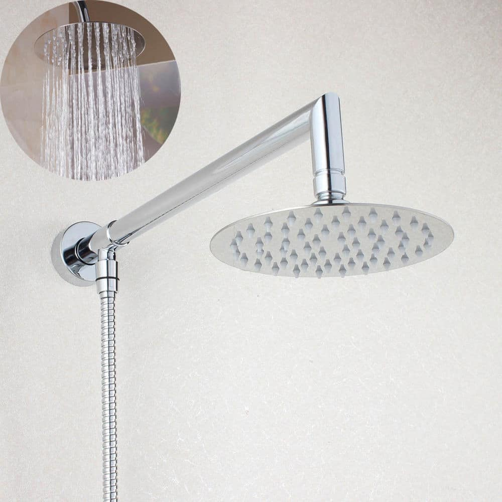 best shower head extension arms