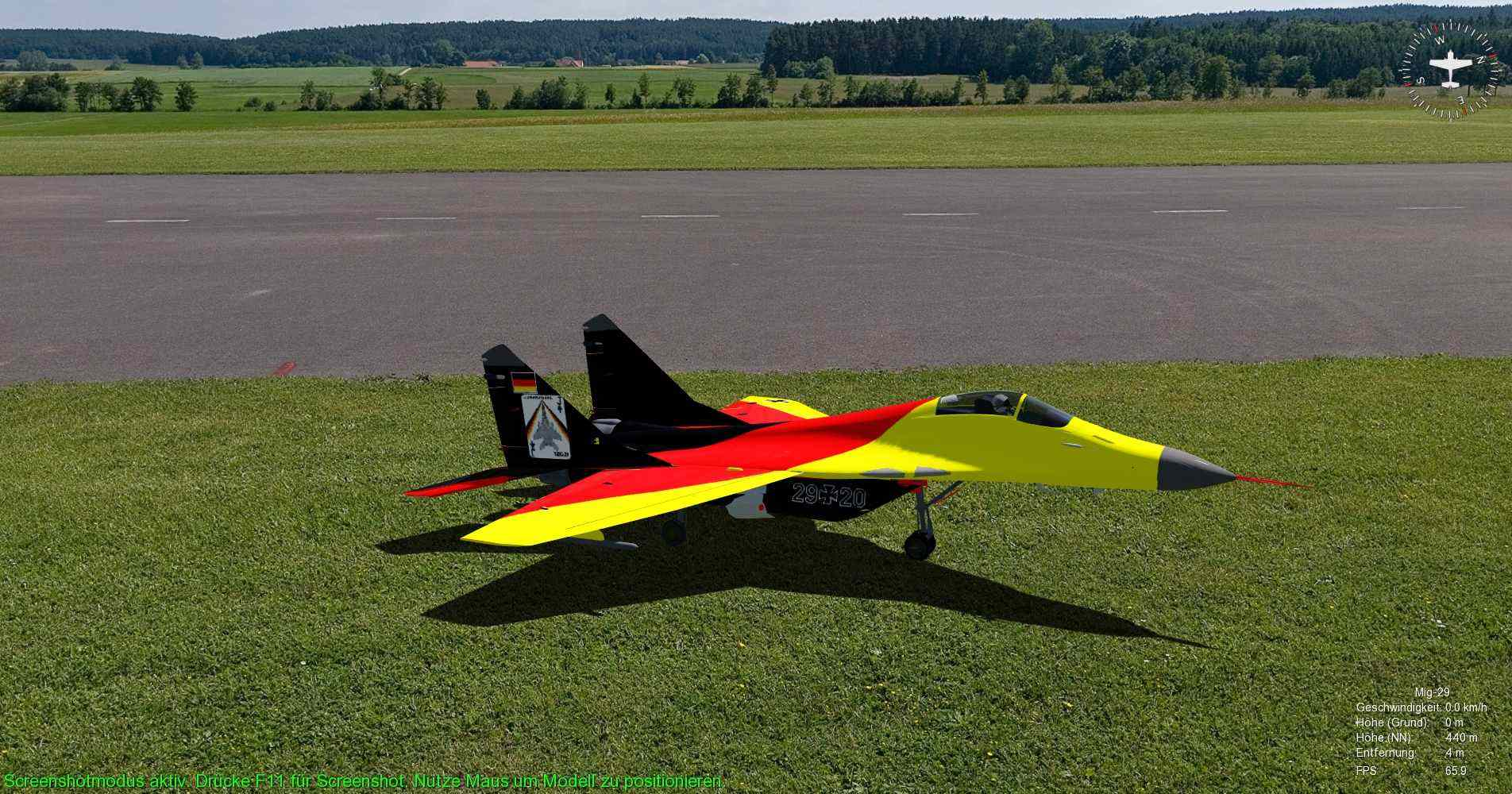 use the software to fly your own rc plane