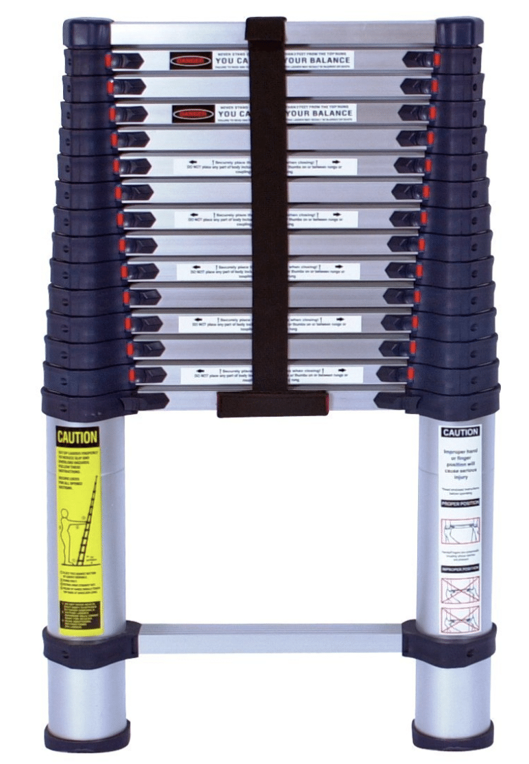 tallest telescoping ladder