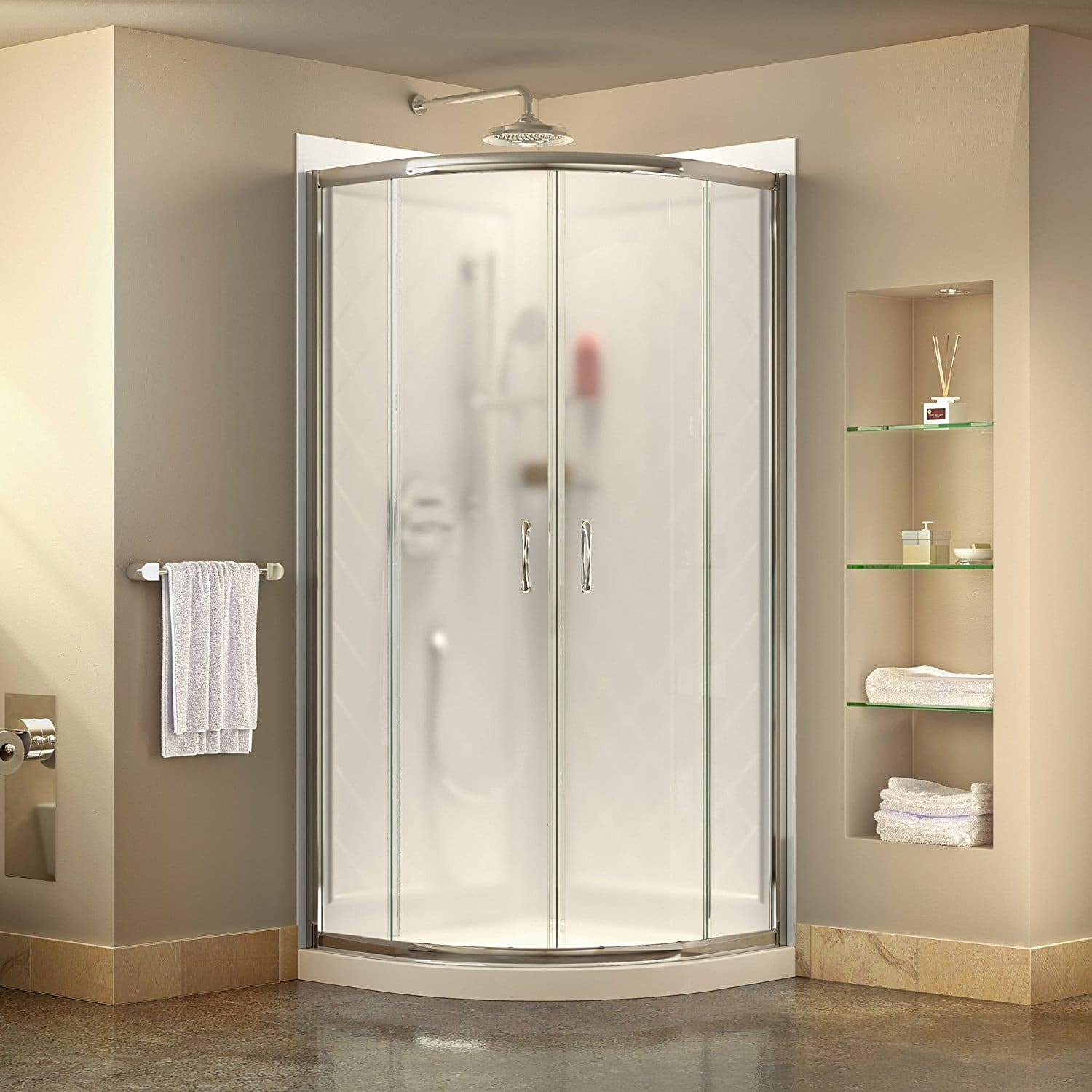 5 Best Shower Enclosure Kits For Bathrooms June 2018 Reviews