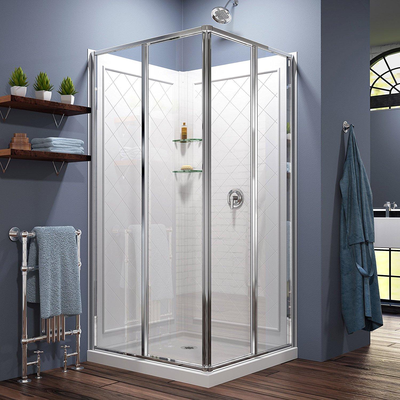 5 Best Shower Enclosure Kits For Bathrooms June 2018 Reviews