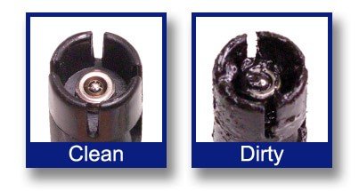 dirty vs clean fuel injector