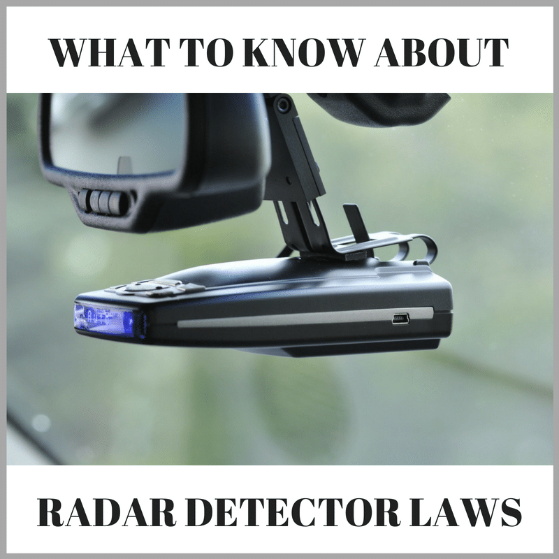 Are Radar Detectors Legal >> Radar Detector Laws What You Need To Know All 50 States