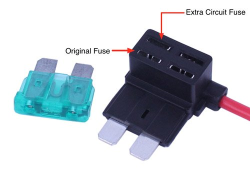 matching fuses on the fuse tap