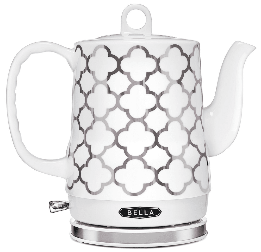 BELLA 1.2 Liter Electric Ceramic Tea Kettle
