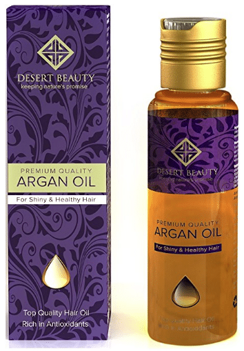 Premium Argan Oil for Hair Treatment, Conditioning & Hair Loss Prevention