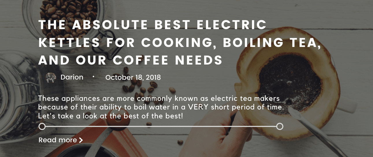 the best electric kettles
