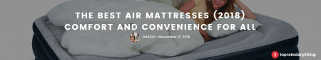 the best air mattress