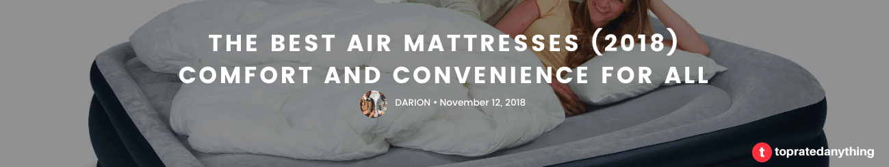 the best air mattress