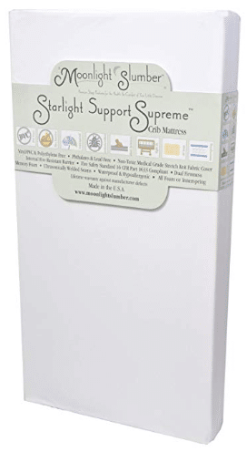 Starlight Support Supreme Dual Firmness Crib Mattress