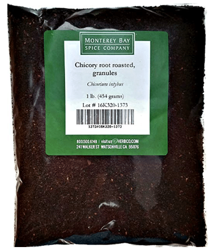 CHICORY ROOT Roasted Granules NATURAL Coffee and Tea Substitute
