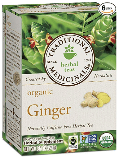 Traditional Medicinals Organic Ginger