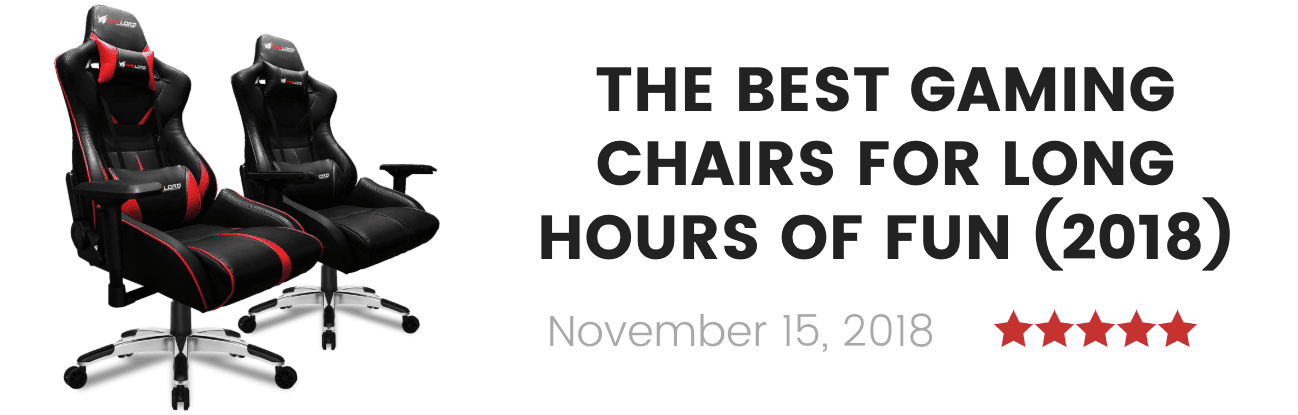best gaming chairs (2019)