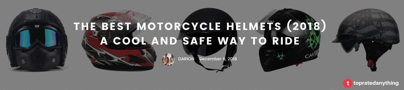 best motorcycle helmets header