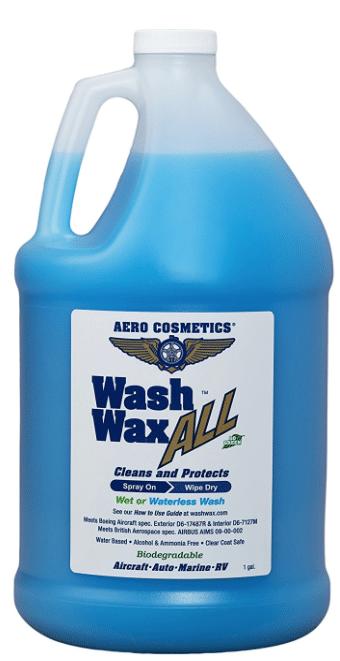 Aero Cosmetics Wet or Waterless Car Wash Wax